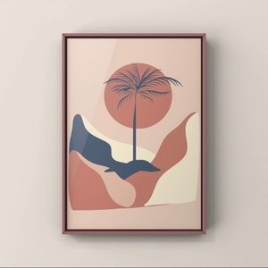 Modern minimalist boho abstract wall art prints
